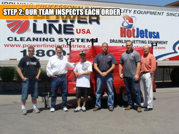 Our Trailer Power Wash team will package your trailer with care.